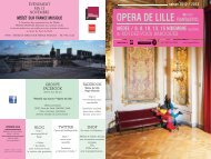 OPERA DE LILLE - Opéra de Lille