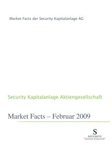 Ohne Market Facts Februar 2009 - finanzberaterforum.at