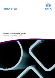 Hybox® 355 technical guide Structural hollow sections