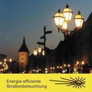 Energie-effiziente Straßenbeleuchtung