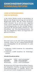 EINWOHNERINFORMATION ... - CDU Limburgerhof