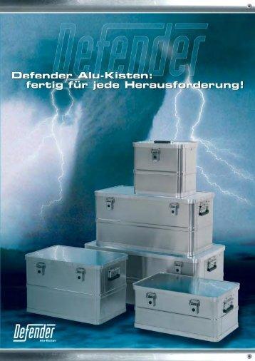 Defender Alu-Kisten