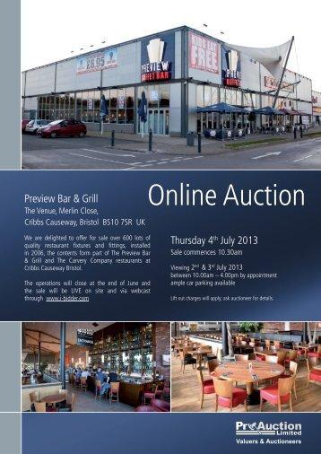 Auction Catalogue - PRWeb