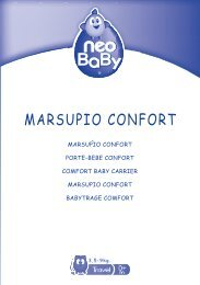 MARSUPIO CONFORT - Neo Baby