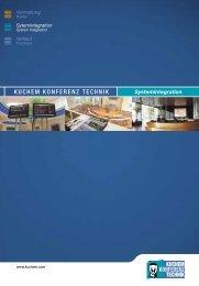 Festinstallationskatalog - Kuchem Konferenz Technik