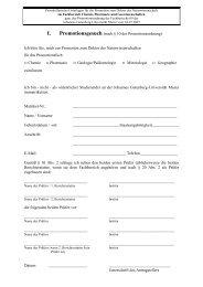 Antrag Promotionsgesuch - Studienbüros des Fachbereiches 09 ...