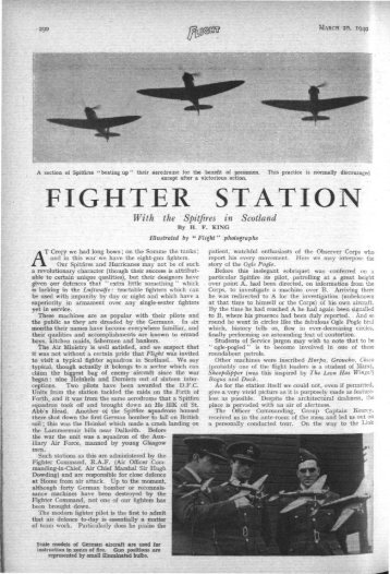 FIGHTER STATION - WWII Aircraft Performance