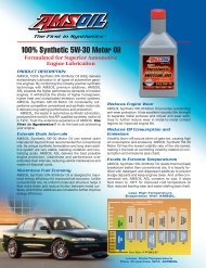 ASL - 100% Synthetic 5W-30 Motor Oil - Synpsg