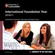 International Foundation Year - Study Group