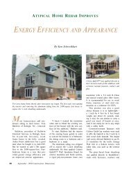 Atypical Home Rehab Improves Energy Efficiency and ... - AWCI