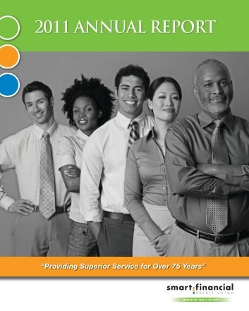 2011 ANNUAL REPORT - Smart Financial Credit Union