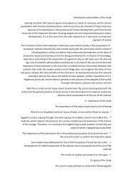 Introduction and problem of the study Seeking countries that aspire ...
