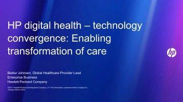 Baldur Johnsen, Global Healthcare Provider Lead Enterprise ...