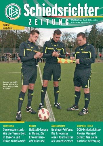 Die Schiedsrichter-Zeitung 2/2012 - DFB