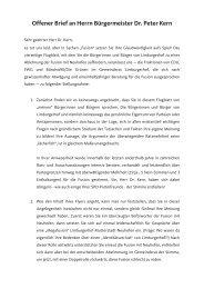 Offener Brief an Herrn Bürgermeister Dr. Peter ... - CDU Limburgerhof