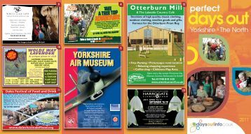 Perfect Days Out Yorkshire - Days Out Leaflets
