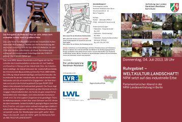 Ruhrgebiet – WELT.KULTUR.LANDSCHAFT! - Stiftung ...