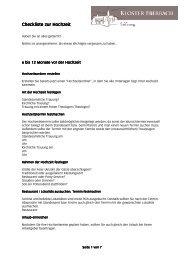 Checkliste Checkliste zur Hochzeit zur Hochzeit ...  - Kloster Eberbach