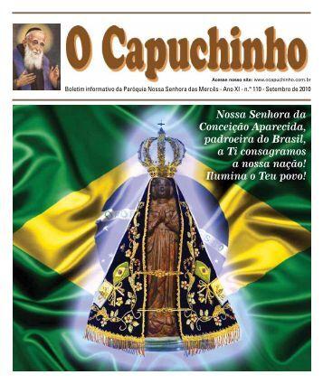 """Jornal """"O Capuchinho"""" - outubro de 2010 - Paróquia Nossa ..."""