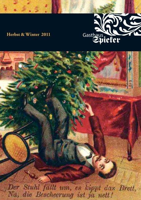 Herbst- und Winterprogramm 2011 Gasthaus Spieker - Slow Food ...