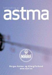 behandling av - Norges Astma- og Allergiforbund
