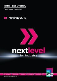 Novinky 2013 for industry - Rittal