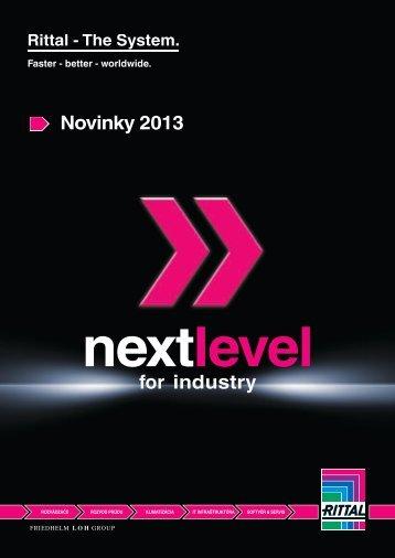 Novinky 2013 for industry - Rittal