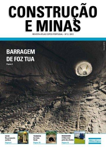 BARRAGEM DE FOZ TUA - Atlas Copco