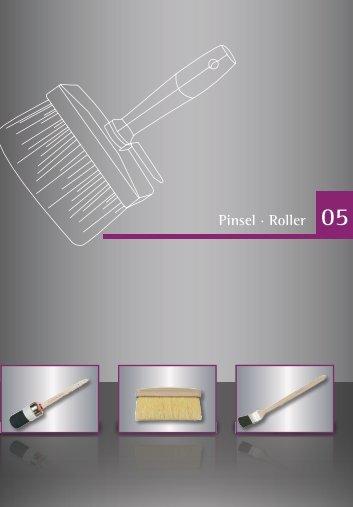 Pinsel · Roller 05 - Werkzeugkatalog Geno