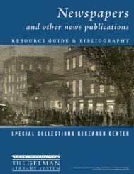 Bibliography - GW Libraries