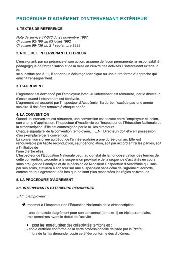 Mod le de demande d 39 agr ment mjs ffme for Intervenant exterieur