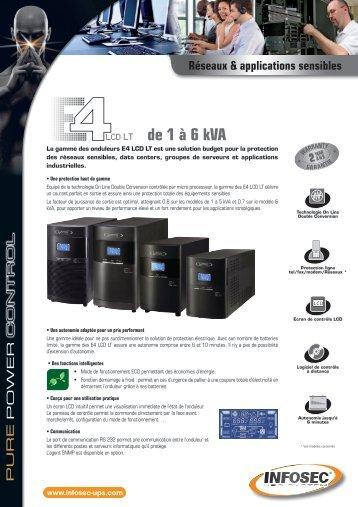 de 1 à 6 kVA - Infosec