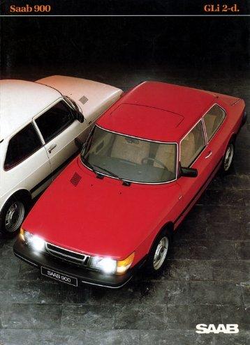 Saab 900 GLI 2d - Saab 900 Klub
