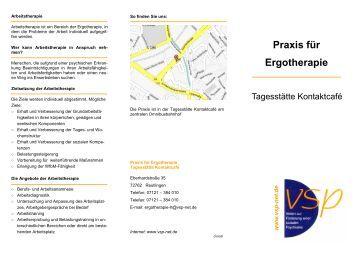 Praxis für Ergotherapie - VSP-NET.de