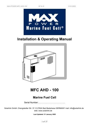 MFC AHD - 100