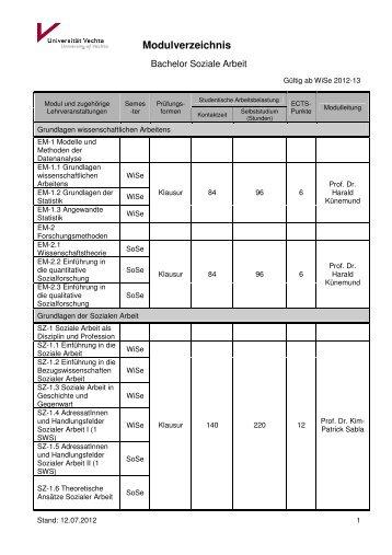 BASA Modulverzeichnis Übersicht_2012.07.12_für Homepage