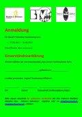 Anmeldeformular - Seite 2