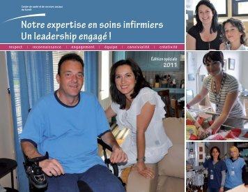 Notre expertise en soins infirmiers Un ... - Santé Montérégie
