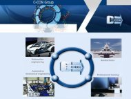DESIGN OF MANUFACTURING RESOURCES - C-Con Gmbh