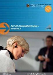 Office-Manager/in (KA) – Kompakt