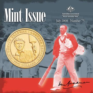 July 2008 Number 75 - Royal Australian Mint