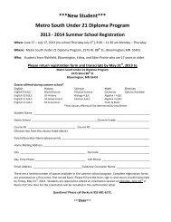 New Student Registration Form