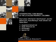 Hyperspectral Core Imaging - Spectral Cameras