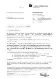 NLANDKREIS ZWICKAU - Saxony International School