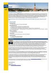 WSP aktuell, Ausgabe Dezember 2011 - Wirtschaft und ...