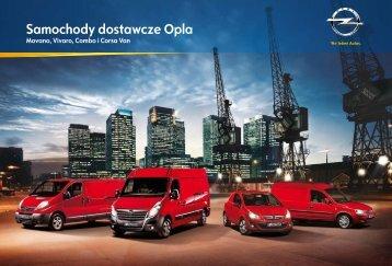 Samochody dostawcze Opla - Serwis Haller