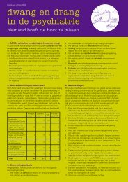 Factsheet - Landelijk Platform GGz