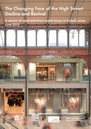 The Changing Face of the High Street: Decline ... - English Heritage
