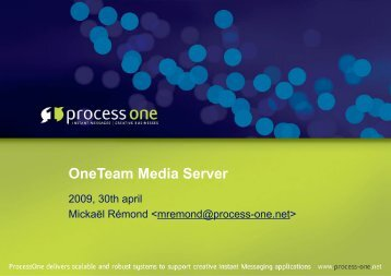 MickaelRemond-oneteammediaserver.pdf - Erlang Factory