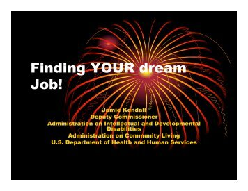 Finding YOUR dream Job!